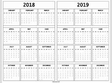 2019 Calendar Printable vitafitguide