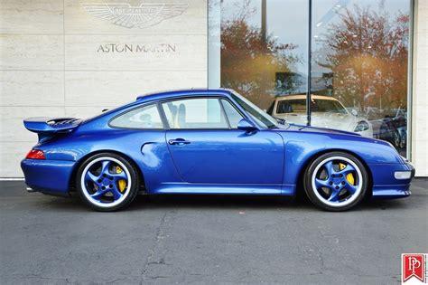 Cobalt Blue Porsche 993 Turbo S For Sale