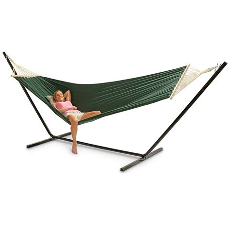 portable folding hammock guide gear portable folding hammock 172580 hammocks at