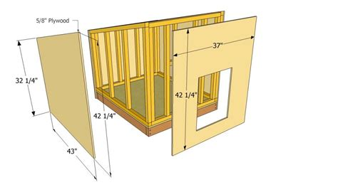 Do It Yourself Dog House Plans New Simple Diy Dog House