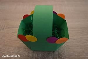 Osterkorb Basteln Vorlage : osterkorb basteln so bastelst du aus tonpapier ein tolles eierversteck ~ Orissabook.com Haus und Dekorationen