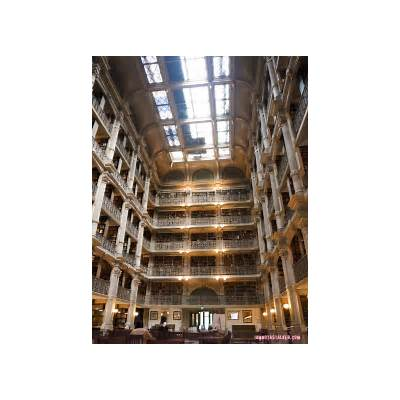 """The George Peabody Library from """"Sleepless in Seattle"""
