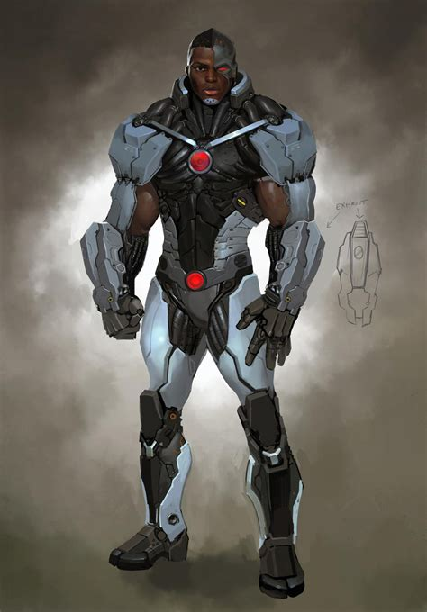 Cyborg Images Injustice Gods Among Us Concept Concept World