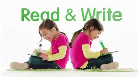 Leapreader Learn To Read And Write! Youtube