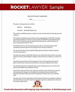 debt payment agreement template emsecinfo With debt consolidation letter