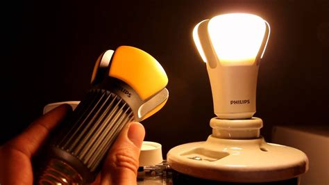 worlds  efficient light bulb philips  prize led bulb review youtube