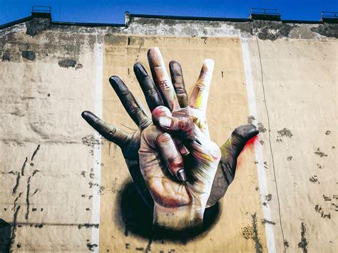 Berlin, Arte Callejero y Graffiti - Serie XIII - Dos Manos