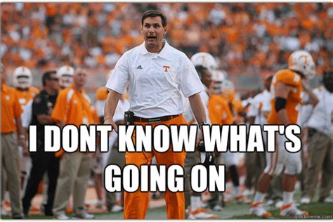 Lane Kiffin Meme - popular tennessee football memes from recent years