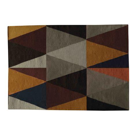 tapis en multicolore 140 x 200 cm archi maisons du monde