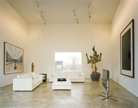 minimalist house  art collector idesignarch