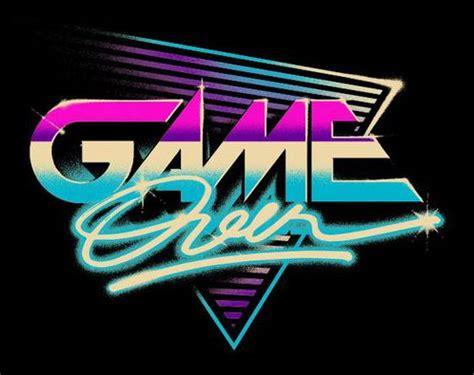 game  logo  style  artist verso retro