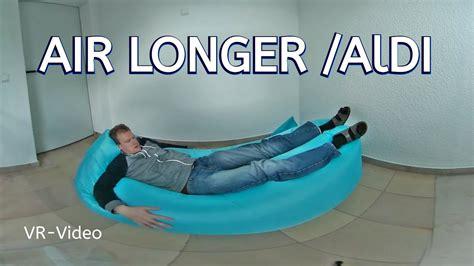 lidl air lounge air longer aldi verzweifeltes aufpusten des luftsofas