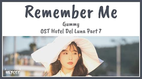 gummy remember  ost hotel del