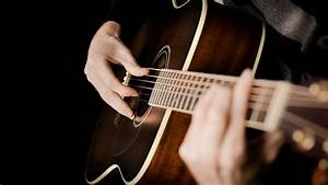 Man Hands On Guitar Music HD Wallpaper Wallpaper | Hot ...