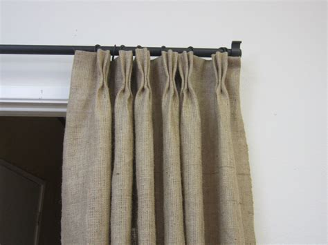 84 90 Pinch Pleat Burlap Panels/ Pinch Pleat Sheer Curtains On Bifold Doors Easy Curtain Rods 2 4 Piece Blackout Diy Rod From Conduit Ideas To Shorten Without Hemming 28mm Wooden Pole Ends Modern Black And White Silver Purple
