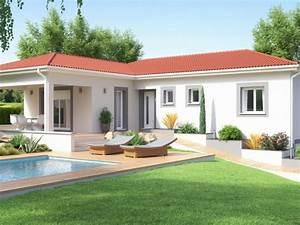 Maison Plain Pied En L : choisir son style de maison plain pied ou maison tage ~ Melissatoandfro.com Idées de Décoration