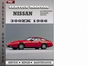 Nissan 300zx 1986 Service Repair Manual Download