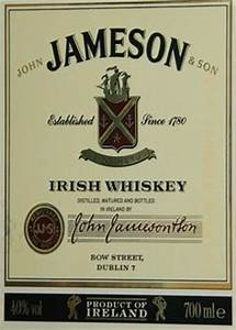 1000 Images About Jameson39s Whiskey For Jameson Label Template