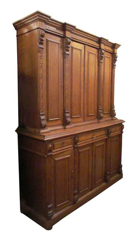 Oak Kitchen Sideboard by Antique Oak Sideboard Olde Things