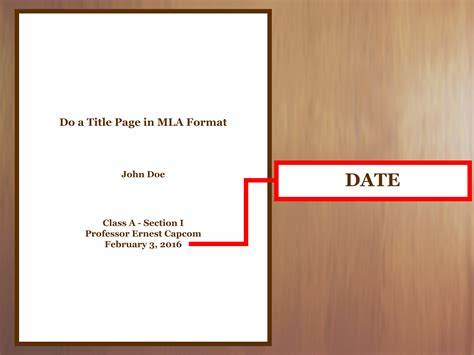How To Make A Title Page For A Resume by How To Do A Title Page In Mla Format With Exles Wikihow