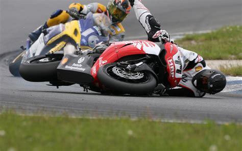 Bizarre Motorcycle Crash