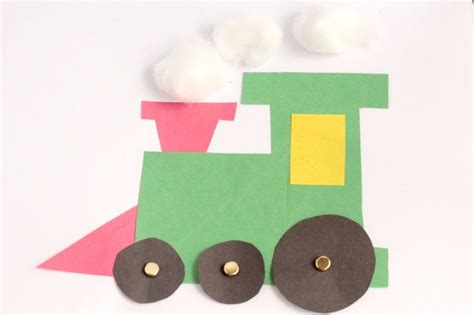 polar express craft for preschool or kindergarten 129 | polar express train craft 4