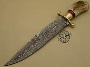 best professional kitchen knives professional damascus bowie knife custom handmade damascus