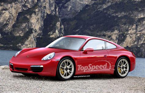 Rendering 2012 Porsche 991 911 News  Top Speed