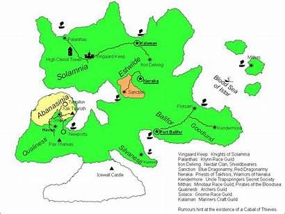 Krynn Map Ansalon Genesis Quests Pbworks
