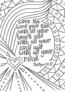 Image result for the greatest commandment printable