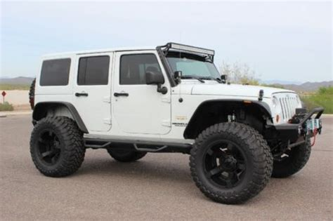 jeep hardtop custom sell used jeep wrangler sahara 4 door 4x4 hard top