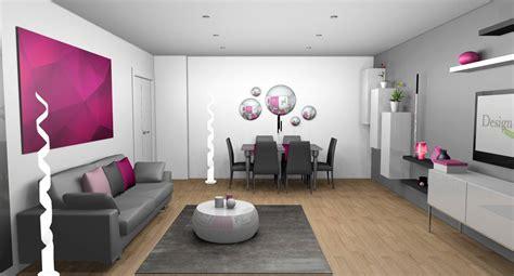 cuisine blanche et mur gris décoration d 39 intérieur d 39 un séjour à gratien 95