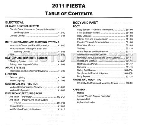 ford fiesta user guide