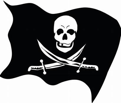 Pirate Flag Jolly Roger Pirata Bandera Silhouette