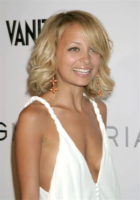 nicole richie hairstyle  hottest  hollywood