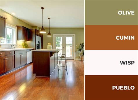 color schemes for kitchens with cabinets 30 captivating kitchen color schemes