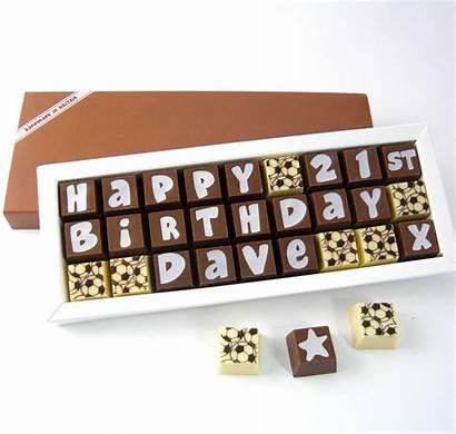 Chocolates Personalised Medium Box Cocoapod Notonthehighstreet