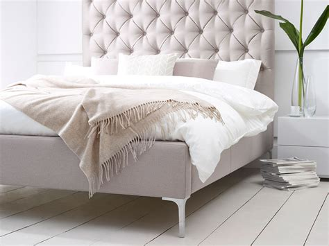 Luxury Double Bed Padded Headboard Lux Your Life