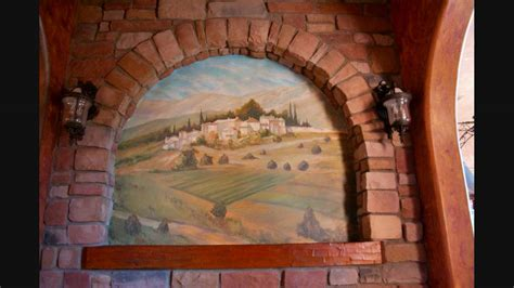 Murals, Faux Painting And Tromp L'oell From Tuscan Art