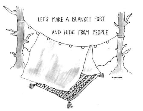 blanket fort on Tumblr