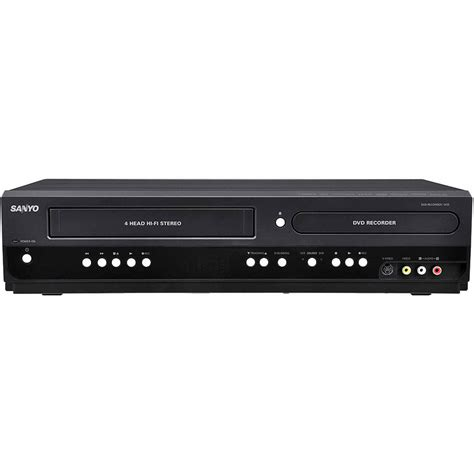 Best Buy Dvd Recorder Sanyo Fwzv475f Combination Vhs Dvd Cd Player Vhs To