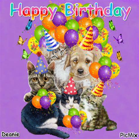 Happy Birthday Animated Images Animated Happy Birthday Animals Pictures Photos And