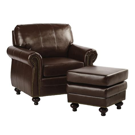 leather chair and ottoman clearance bonded leather library chair with ottoman christmas tree