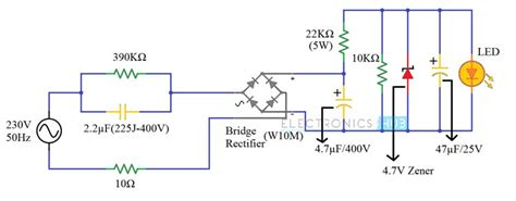 Led Driver Circuit Diagram Working Applications
