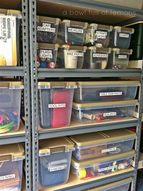 Organize Garage Ideas Pictures  One Project At A Time