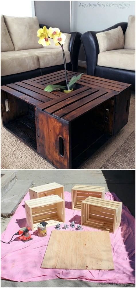 wood crate upcycling projects  fabulous home decor