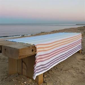 Fouta De Plage : fouta pas cher belle serviette de plage pour l 39 t c t maison ~ Teatrodelosmanantiales.com Idées de Décoration