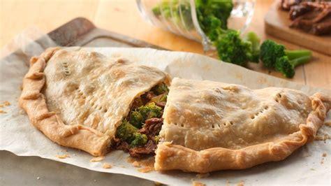Broccoli Beef Calzone Pies Recipe Pillsburycom