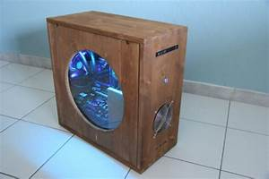Show Off Your PC In A Wooden Case « Adafruit Industries