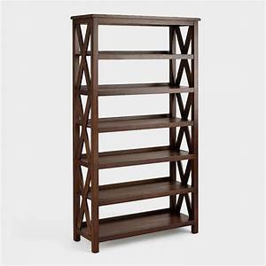 Verona Six-Shelf Bookshelf World Market